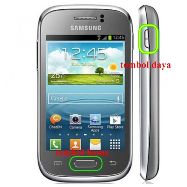 Samsung Galaxy Y baru