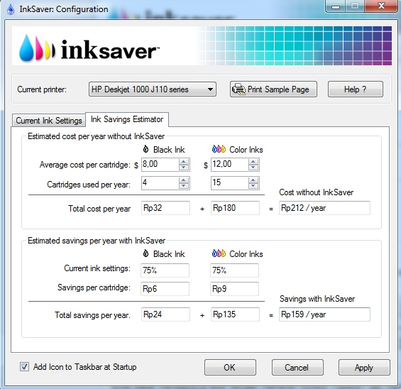 ink saver s