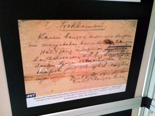 dokumentasi di Depo Arsip Kalimantan Selatan